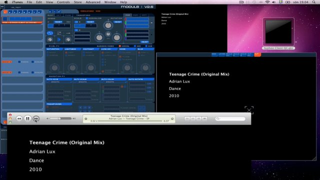 Tutorial: iTunes2Syphon